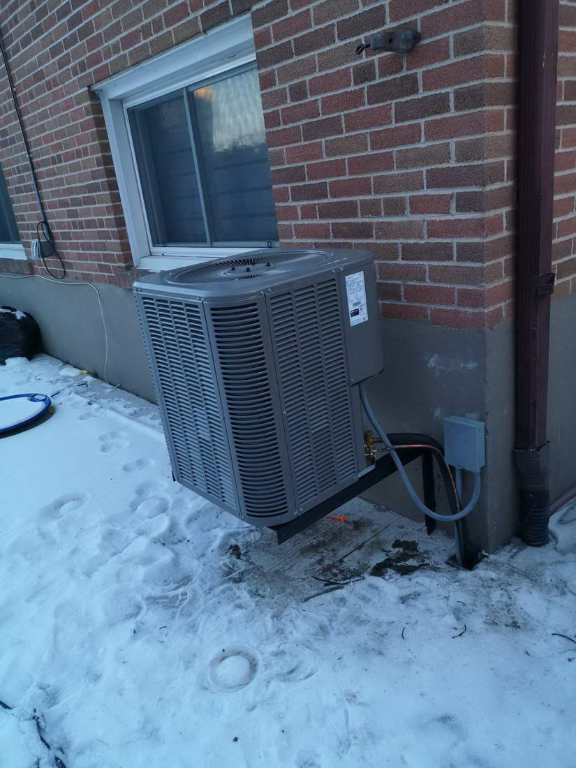 Central Air Conditioner Replacement Scarborough