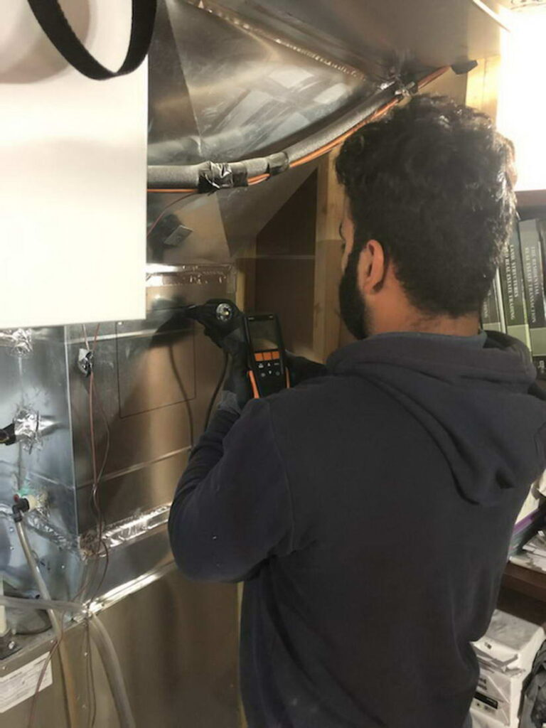 Furnace installation and repair services